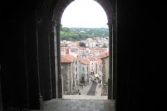 7 Blick aus Kathetrale in Le Puy-en-Valay
